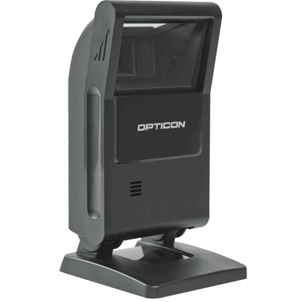 The Opticon M10 from the side.