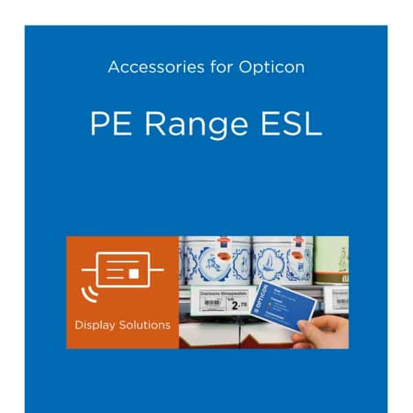 Cover image for PE-Range Electronic Shelf Labels accessories folder