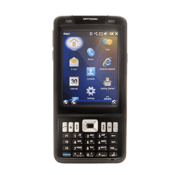 Opticon H-22 Mobile Computer numeric from the Front