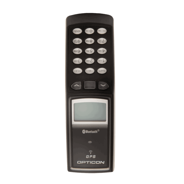 The Opticon OPL-9815 from the front.