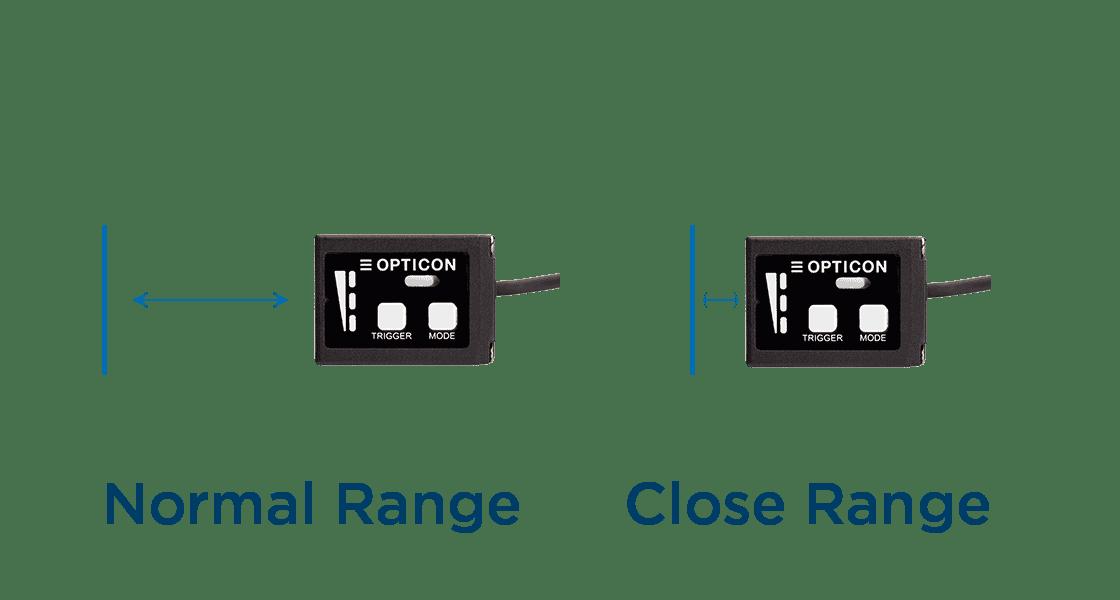 Scan range